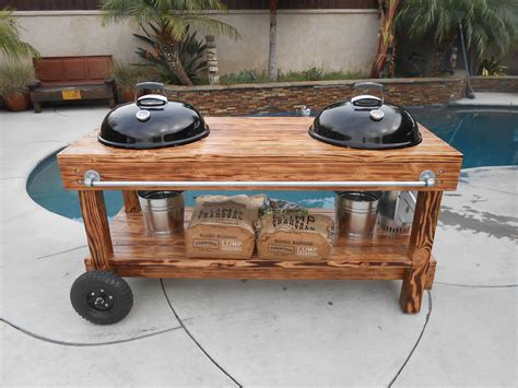 Diy Weber Grill Table With Burner