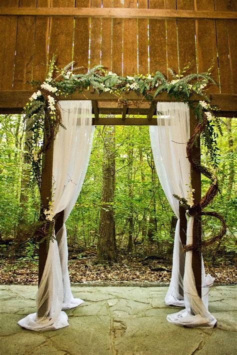 Diy Wedding Arbor Flower Arrangements