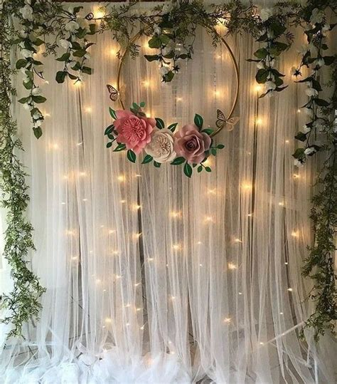 Diy Wedding Backdrop Curtain