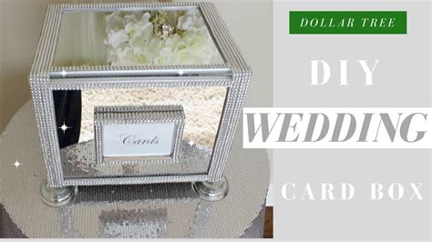 Diy Wedding Card Box Dollar Tree