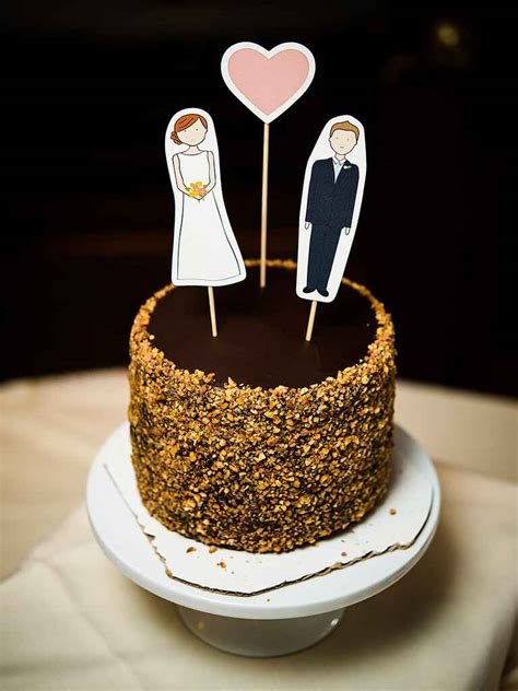 Diy Wedding Cupcake Toppers