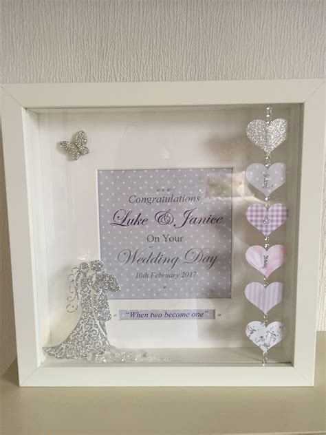 Diy Wedding Date Picture Frame