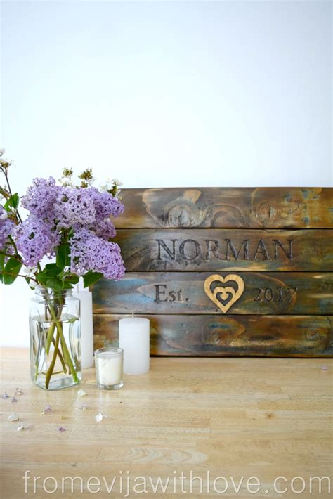 Diy Wedding Gift Wood