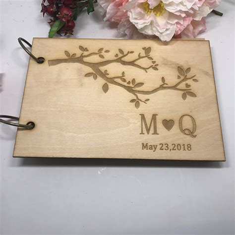 Diy Wedding Guest Book Out Of Wood