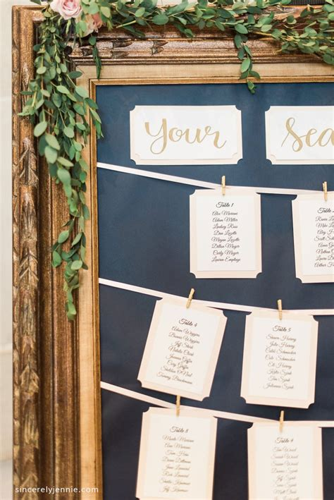 Diy Wedding Seating Chart Board