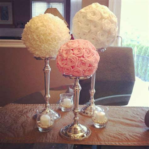 Diy Wedding Table Centerpieces Pinterest