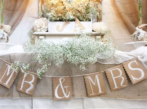 Diy Wedding Table Decor Ideas
