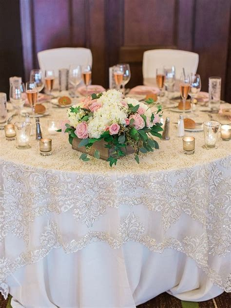 Diy Wedding Table Overlays