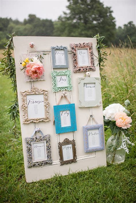 Diy Wedding Table Plan Ideas