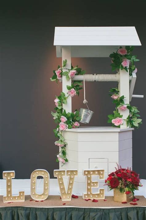 Diy Wedding Wishing Well