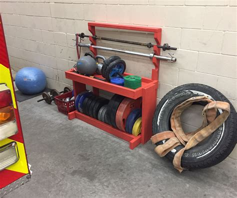 Diy Weight Bar Storage