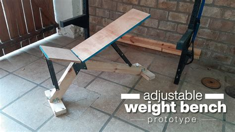 Diy Weight Bench For Cake