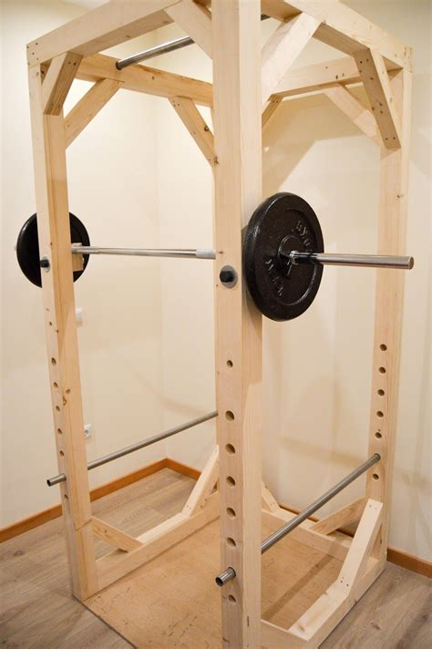 Diy Weight Rack Cage