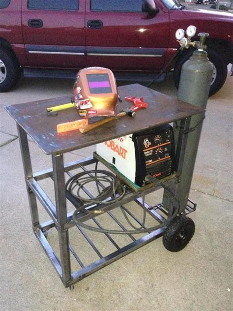 Diy Welding Table Details Hair