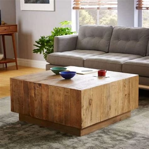 Diy West Elm Coffee Table