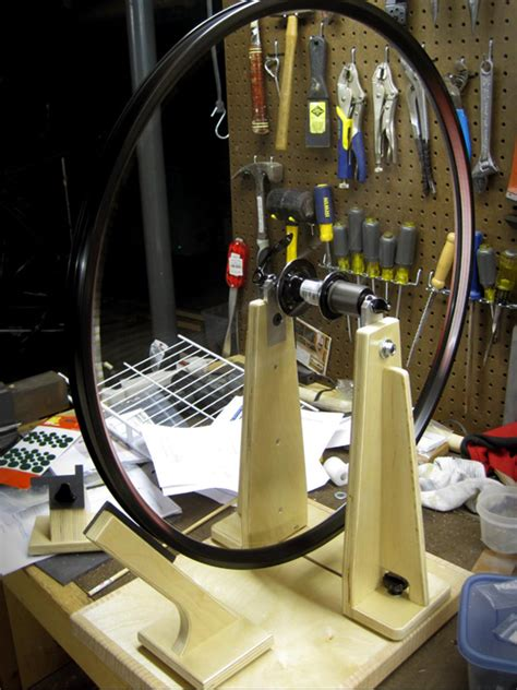 Diy Wheel Truing Stand Bicycle