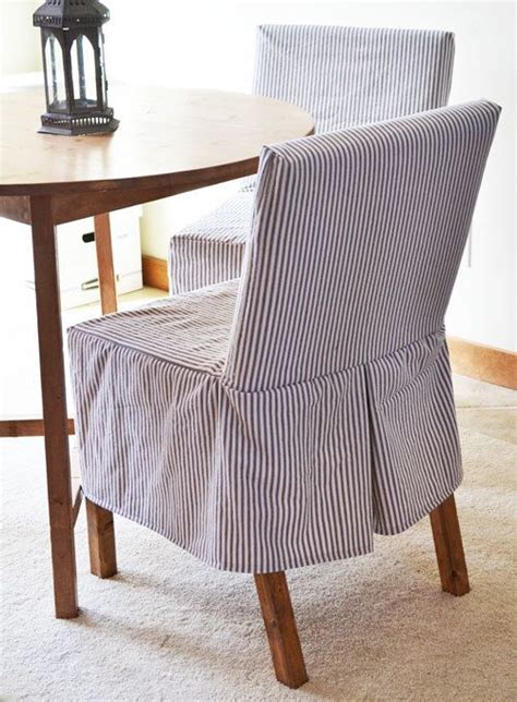Diy White Chair Cover