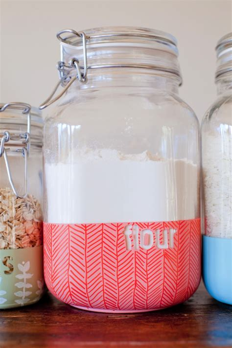 Diy White Kitchen Jar