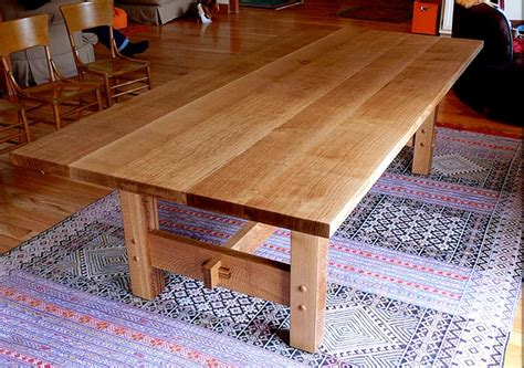 Diy White Oak Dining Table