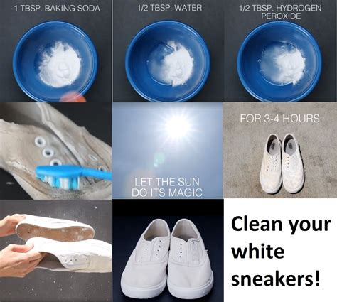 Diy White Shoe Cleaner