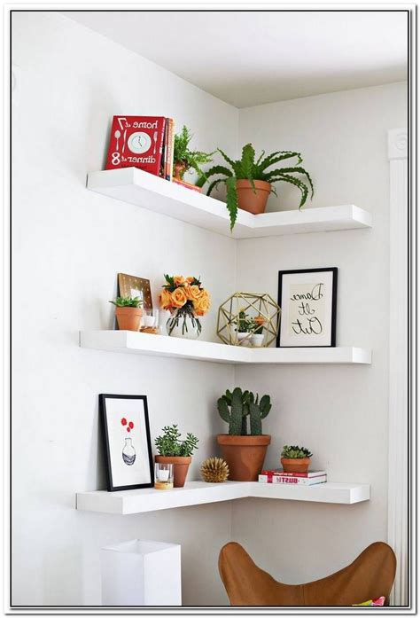 Diy White Wall Shelves