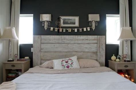 Diy Whitewashed Wood Headboard