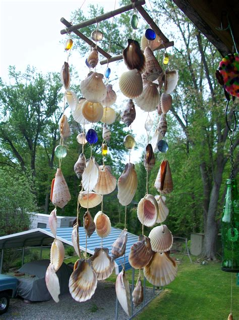 Diy Wind Chimes Using Seashells