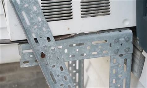 Diy Window Air Conditioner Support Bracket
