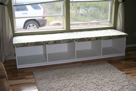 Diy Window Bench Seat With Storage