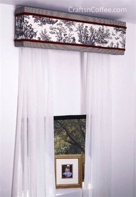 Diy Window Cornice Valance