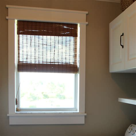 Diy Window Frames For Laundry Room