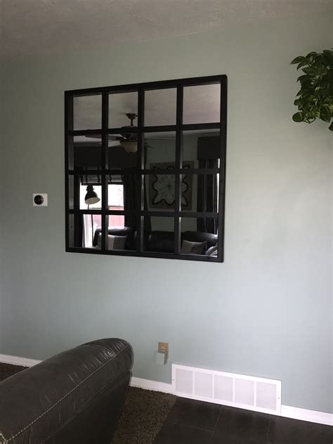 Diy Window Pane Mirror Ikea