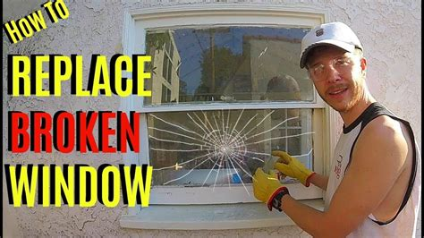 Diy Window Pane Replacement Youtube