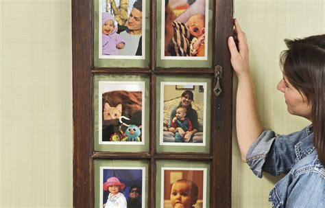 Diy Window Sash Picture Frame