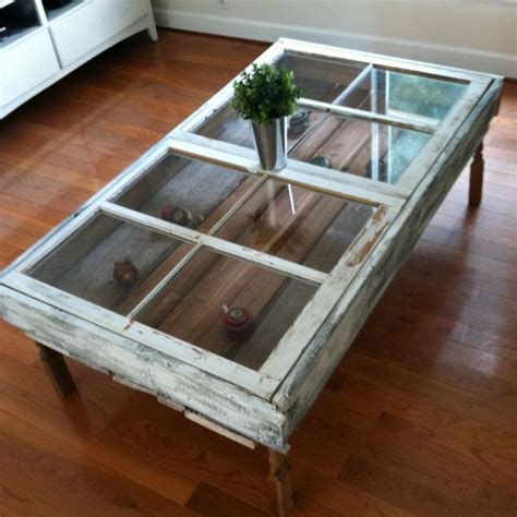 Diy Window Shadow Box Tables