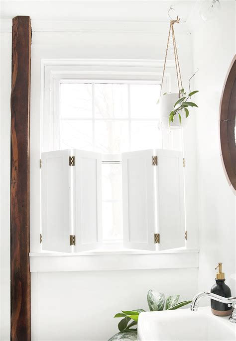Diy Window Shutters Interior
