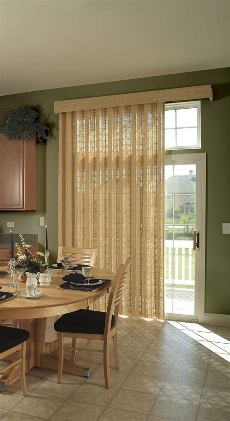 Diy Window Treatment Ideas For Sliding Glass Doors