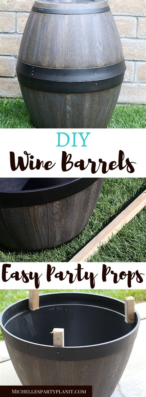 Diy Wine Barrel Prop