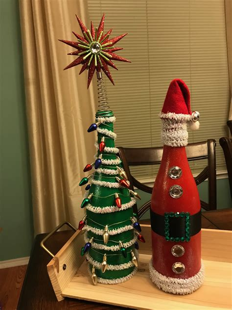 Diy Wine Bottle Wood Working Projects For Christmas