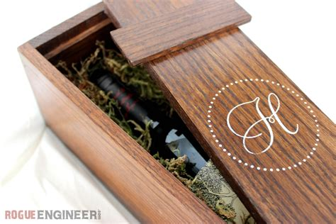 Diy Wine Box Plans