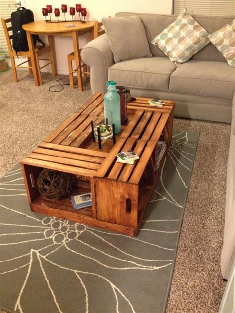 Diy Wine Crate Tables