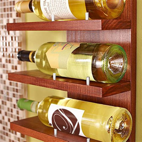 Diy Wine Rack Lowes