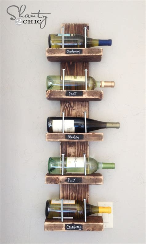 Diy Wine Rack Projects To Do