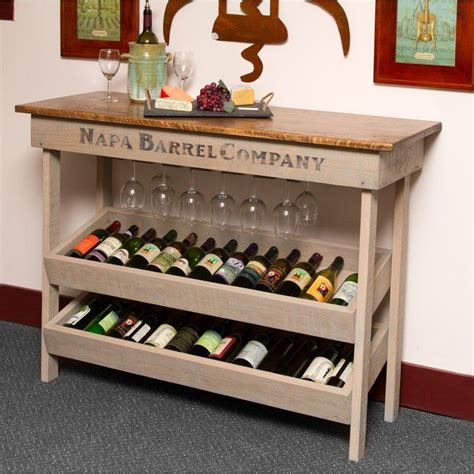 Diy Wine Rack Table With Chairs