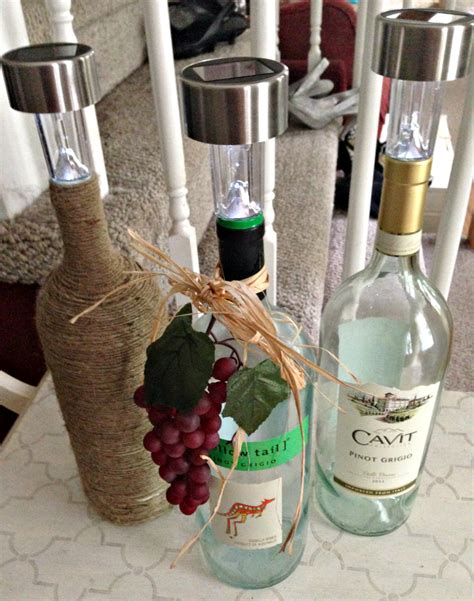 Diy Wine Table Tiki Light