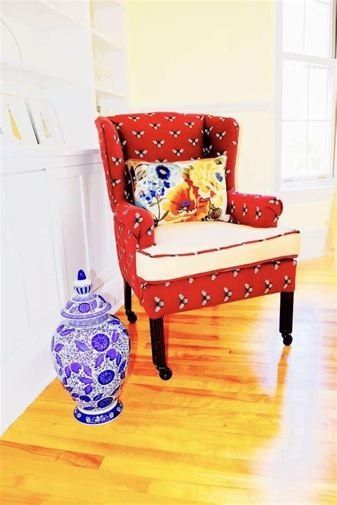 Diy Wingback Chair Repair And Reupholstery