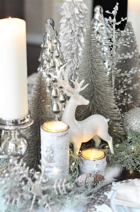 Diy Winter Wonderland Table Topper