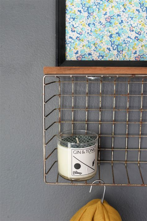 Diy Wire Basket Shelves
