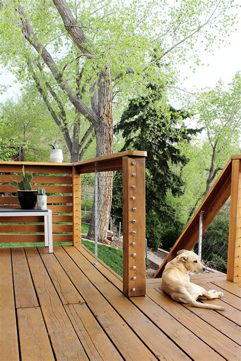 Diy Wire Deck Railing