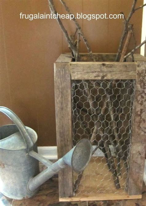 Diy Wire Mesh Wastebasket Ideas